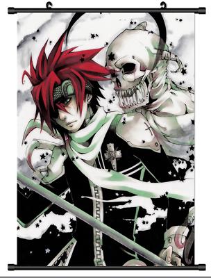 3990 Hot Anime D.Gray-Man Lavi wall Poster Scroll