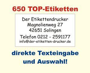 650-Absender-Adressetiketten-nach-Ihren-Angaben-bedruckt-selbstklebend