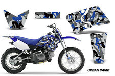 Yamaha Graphic Kit AMR Racing Bike Decal TTR 90 Decal MX Parts 2000-2007 URBAN