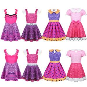 Image is loading Toddler-Kids-Girl-Dolls-Dress-Christmas-Party-Tutu- d8b2056d00fd