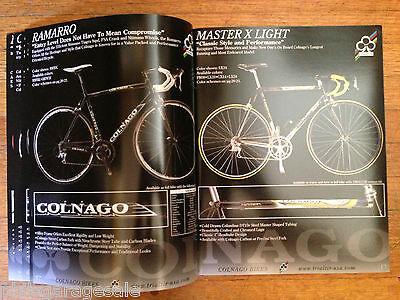 Trialtir COLNAGO Dealer 2007 Color 52pg catalogue Biemme Las Road Track Cyclocross