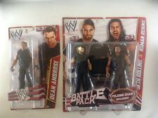 WWE Battle Pack First Time In The Line Seth Rollins & Roman Reigns and Dean Ambr