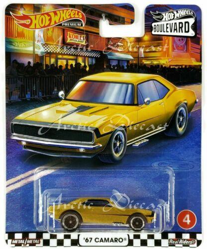 Hot Wheels Premium 2020 Boulevard USA Walmart Exclusive #4 /'67 Chevy Camaro