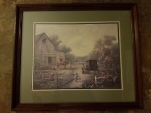AMISH LIFE by CARL VALENTE BEAUTIFUL CONDITION!!!  FREE SHIPPING!!!
