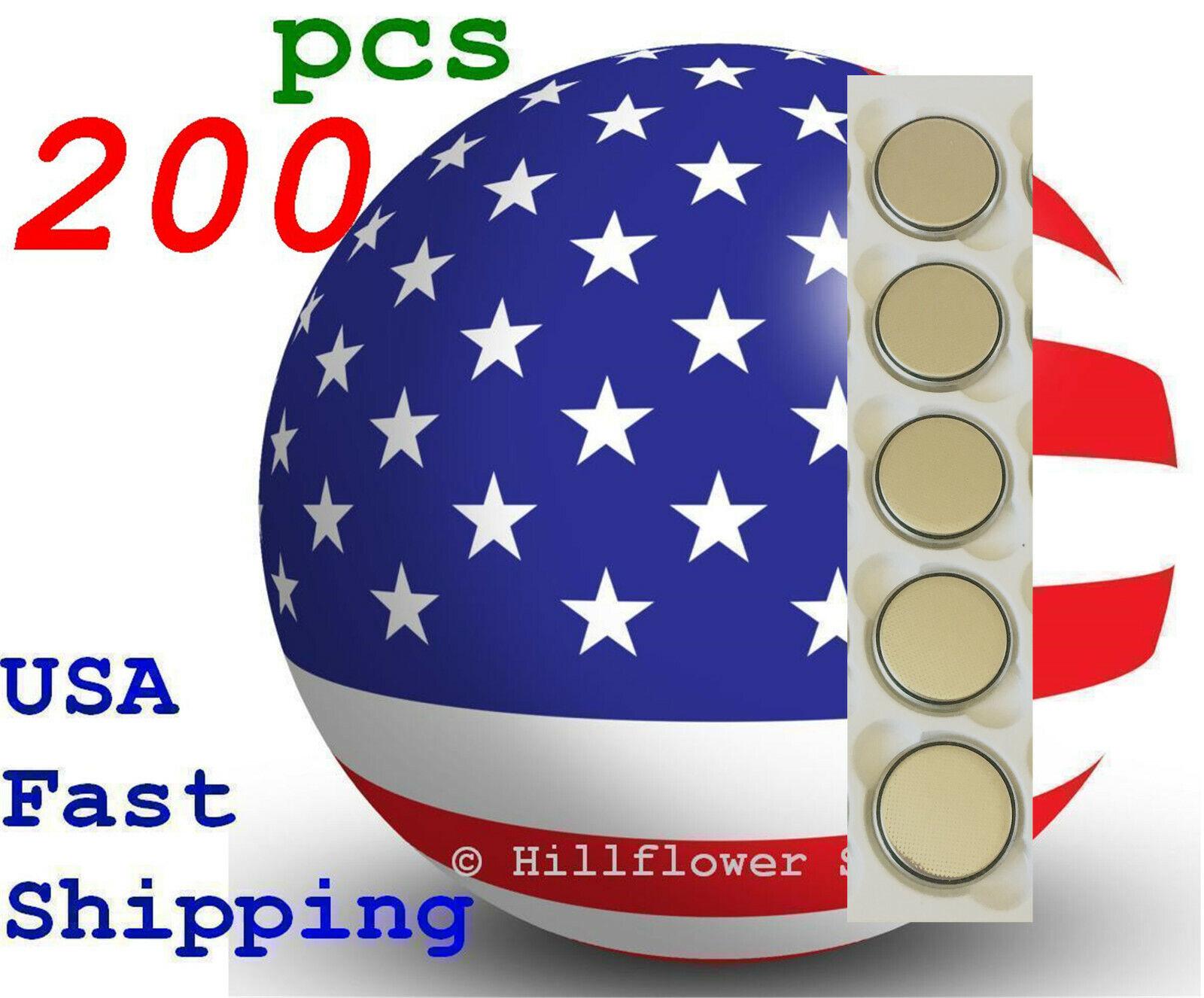 200 pcs CR2450 2450 LM2450 BR2450 Bulk 3V Lithium Battery