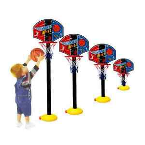 KidsToy-Toddler-Kids-Out-Indoor-Sports-TrainAdjustable-Basketball-Hoop-Toy-RRG2