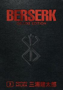 Berserk Hardcover Deluxe Edition Volume 3 BRAND NEW SEALED!! English!