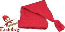 Voyageur Red Rouge Toque Tuque Hat Cap Etchiboy Historical Alpaca Alpaga Wool