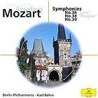 Wolfgang Amadeus Mozart - Mozart: Symphonies Nos. 36, 38 & 39 (2000)