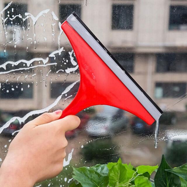 New Window Glass Squeegee Cleaner Blade Home Bathroom Car Mirror Wiper Tool HL