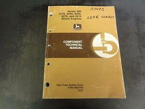 john deere series 300 3179 4239 6359 4276 6414 engines technical rh ebay com John Deere GT225 Manual John Deere L111 Service Manual