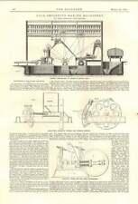 1894 Coal Briquette Making Machinery Robert Middleton Leeds