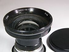 OKS2-16-1 LOMO 2.8/16mm #77001 Lens OKC for micro 4/3-mount BMPCC with focusing