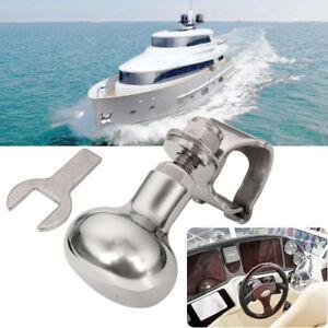 Marine-Sportboot-Lenkrad-Knauf-Knopf-Lenkhilfe-Manoevrieren-Steuerk-Boot-4-5CM