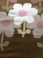 """Groovey 1970s """"RONDEAU""""BY RENE CUZZOLIN VINTAGE FABRIC/SCREEN PRINT"""