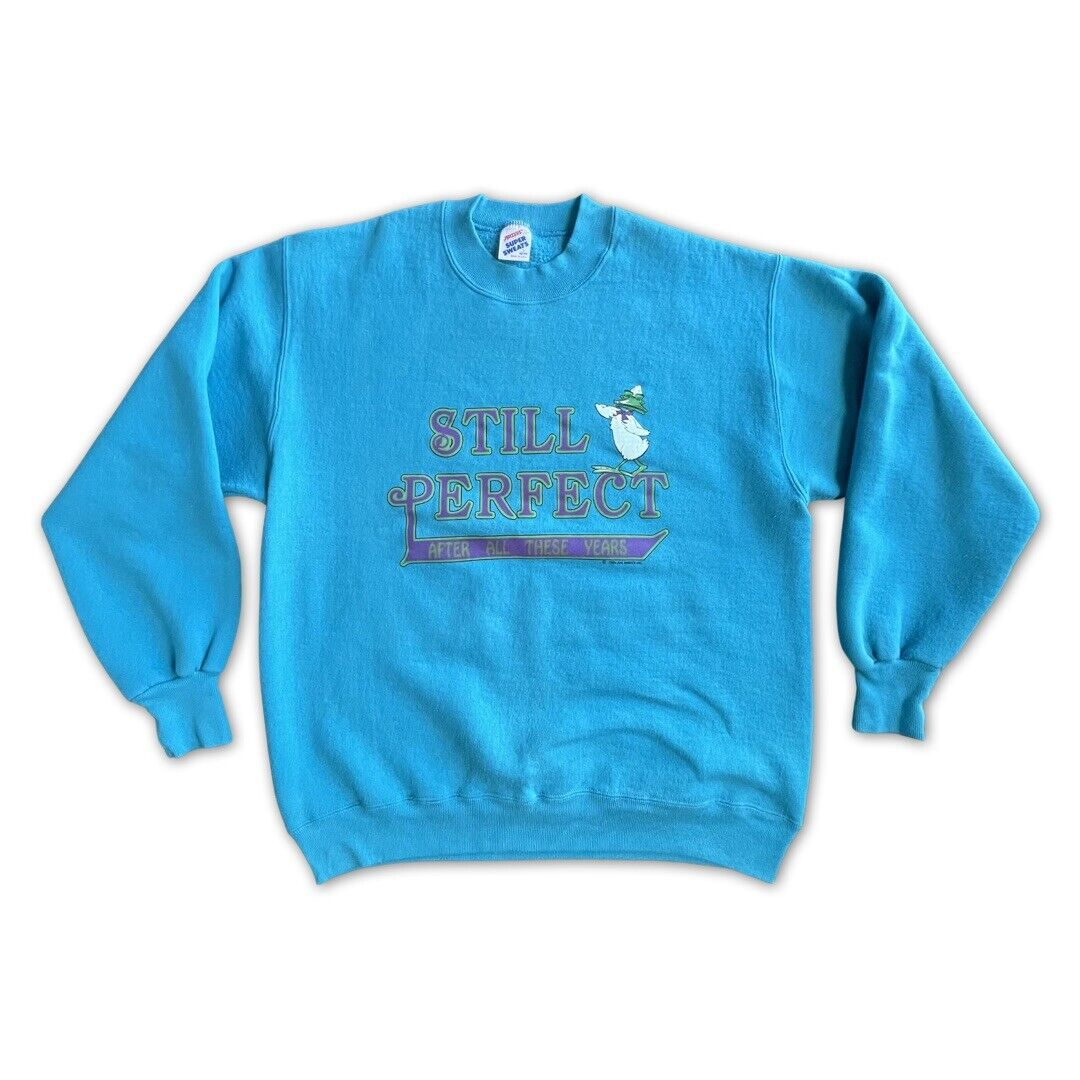 Still Perfect After All These Super Sweats VTG Sweatshirt 1989 Air Waves