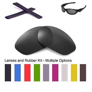 Walleva Lenses and Earsocks for Oakley Straight Jacket - Multiple ...