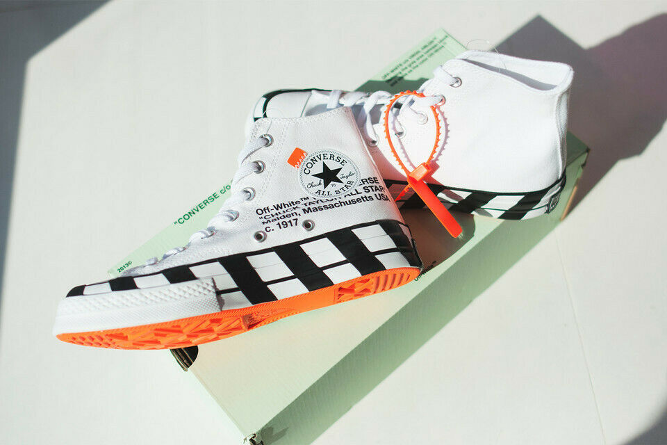Off White Converse Chuck Taylor 70 size US 13 Brand New AUTHENTICATED 100% REAL