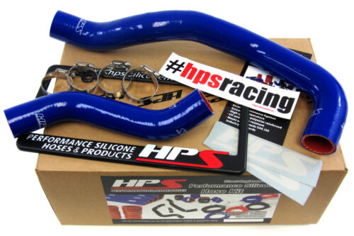 HPS Blue Silicone Radiator Hose Kit Coolant OEM Replacement 57-1271-BLUE GS300