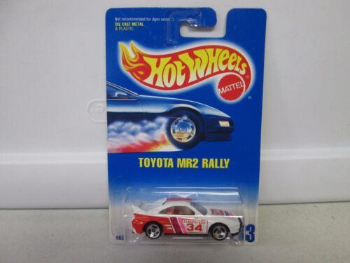Hot Wheels Toyota MR2 Rally White No 233-3 Spk