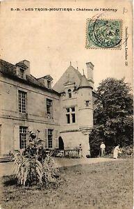CPA Les TROIS-MOUTIERS - Chateau de l'Entray (365874)