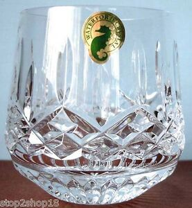 Waterford-Lismore-Roly-Poly-Tumbler-Old-Fashioned-Crystal-Glass-New