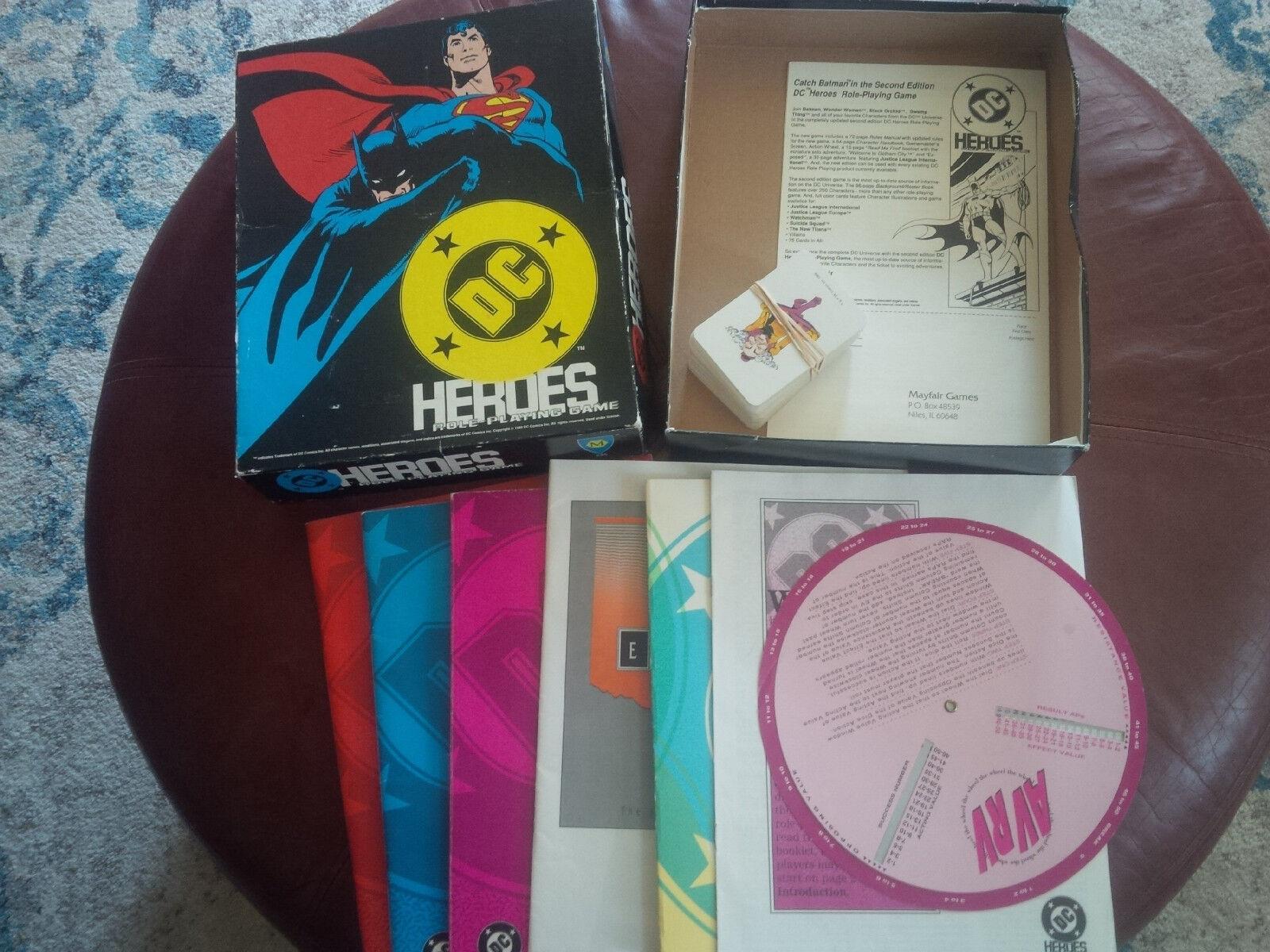 DC Heroes Rpg Box Set Mayfair Juegos rol Raro