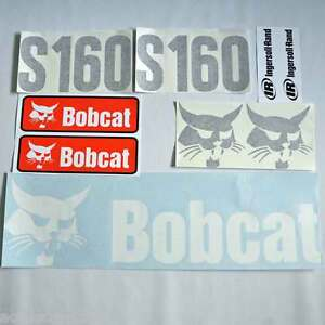 S160-decals-S160-stickers-bobcat-Skid-loader-DECAL-SET