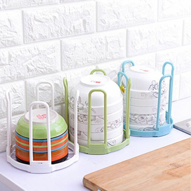 Foldable Bowl Cup Dish Sink Drying Tool Kitchen Holder Storage Organizer Chic