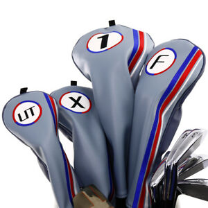 BIG-TEETH-DRIVER-FAIRWAY-WOOD-HEADCOVER-HEADCOVERS-HEAD-COVER-COVERS-FIT-ALL