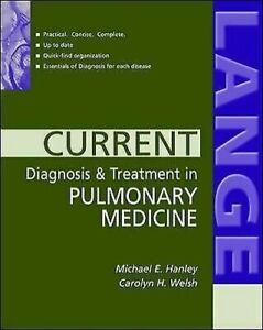 Courant Diagnostic Et Traitement En Pulmonaire Medicine Michael E.Hanley