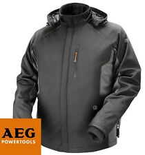 AEG POWER TOOLS 12V HEATED HOODED WORK JACKET SIZE 3XL BRAND NEW