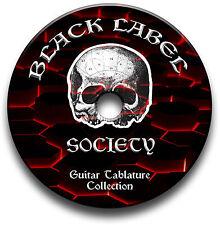 BLACK LABEL SOCIETY HEAVY METAL ROCK CHITARRA INTAVOLATURE INTAVOLATURA CANTO