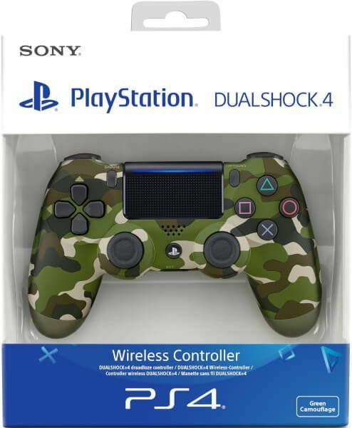 Sony Official Dualshock 4 Controller (GREEN CAMO) (PS4) Brand New & Sealed 2019