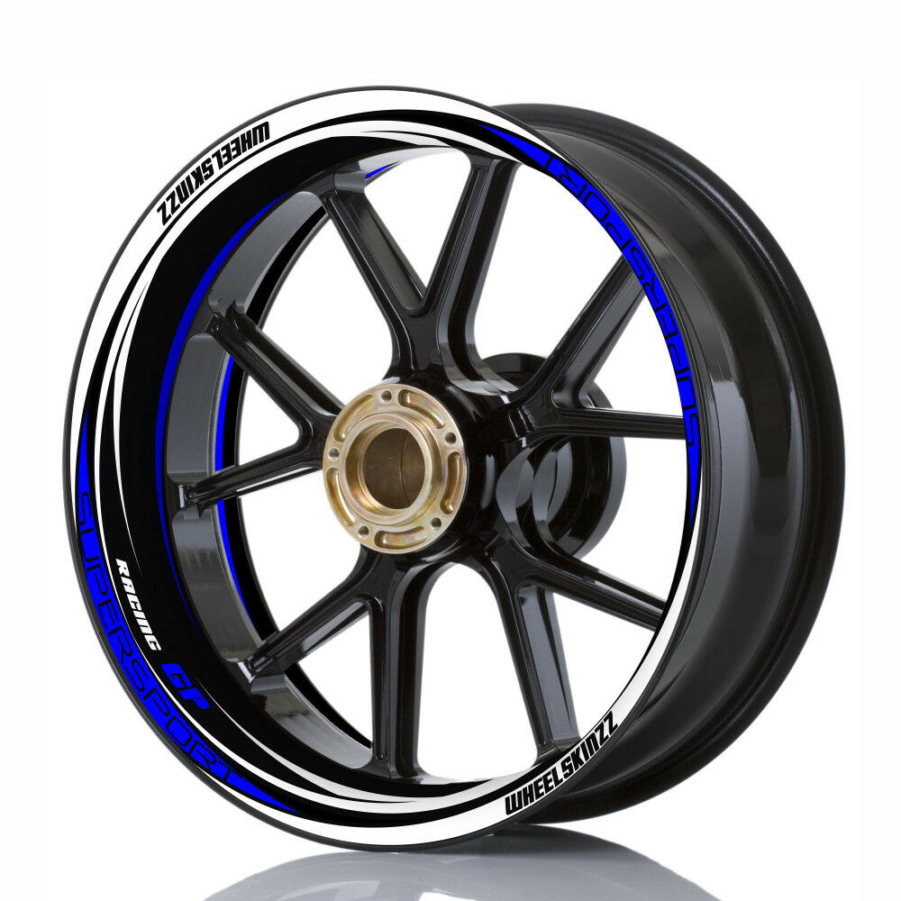 Felgenaufkleber Wheelskinzz® Felgendekor Wheelsticker  RACING GP  SWB