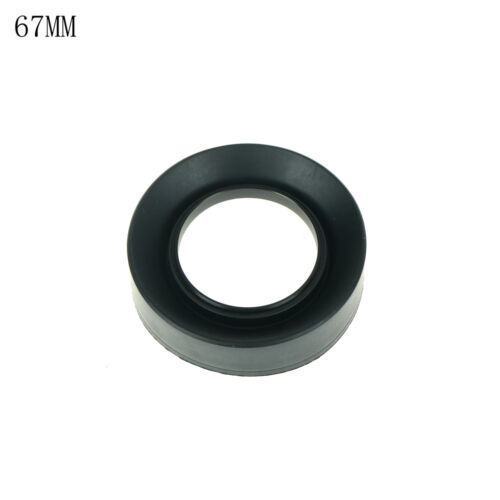 8 Sizes 3-Stage Collapsible 3 in 1 Rubber Lens Hood For Canon Nikon Pentax GD