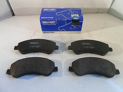 Volkswagen VW Amarok 2.0 TDI Front Brake Pads Set 2010-Onwards GENIUNE BRAKEFIT