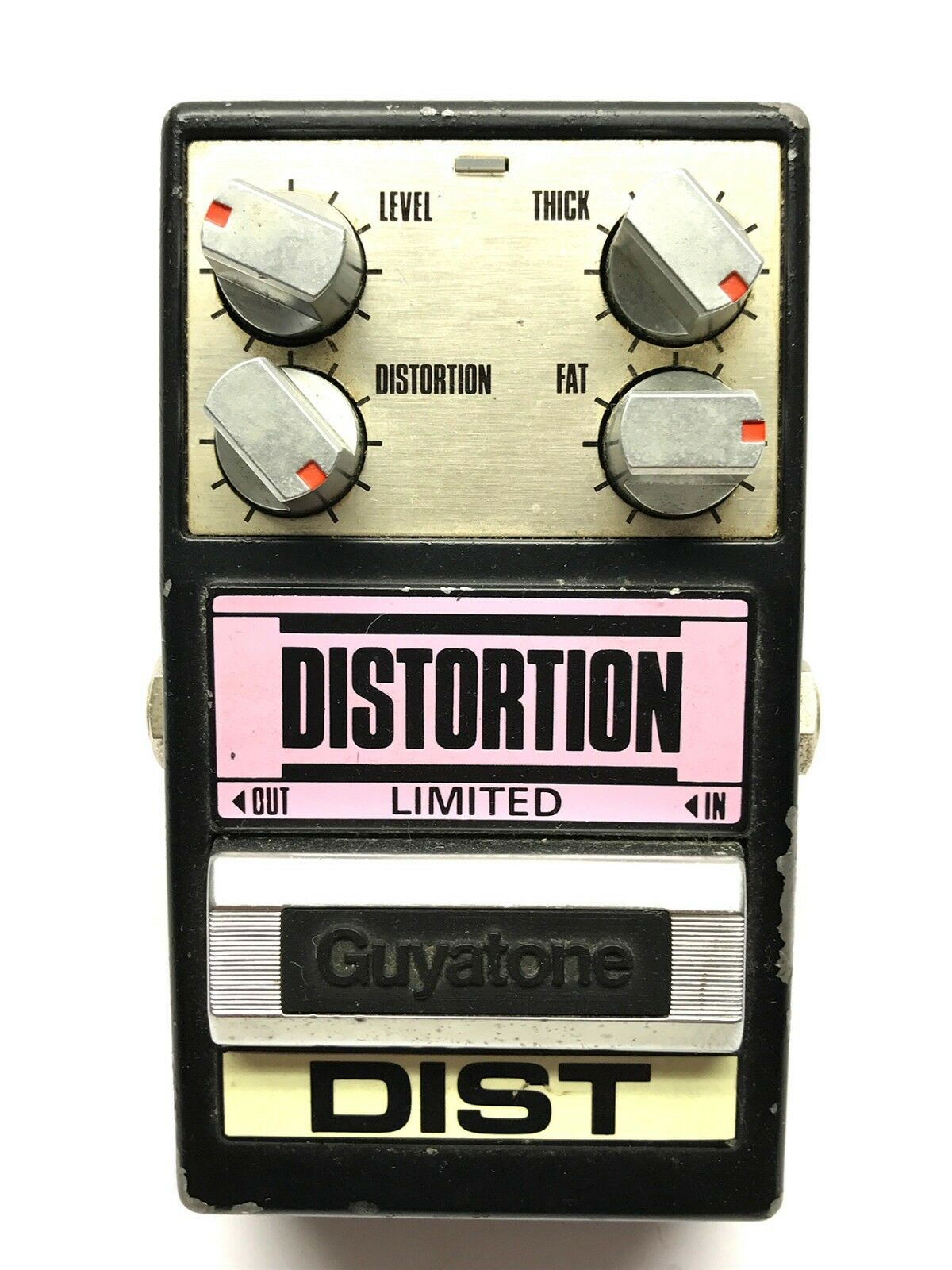 Guyatone PS-016, Distortion Limited, Made In Japan, 1980's, Vintage Effect