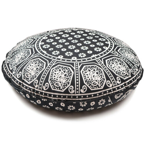 Floor Pillow Covers Hippie Floor Pillow Cover Pouf Indian Mandala Ottoman Decor