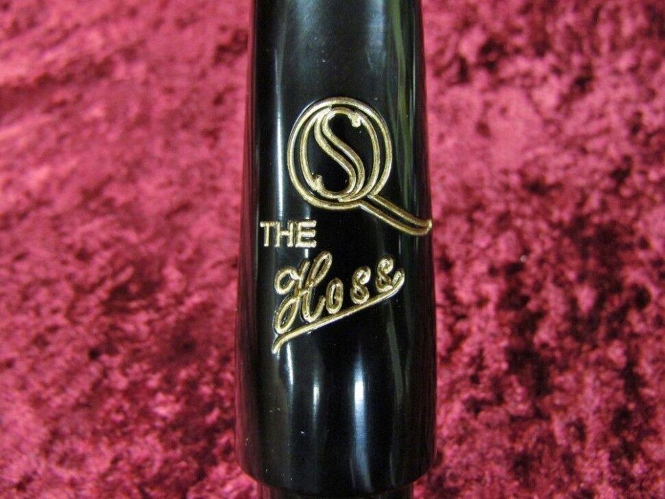 Saxquest 'la boquilla de saxofón Hoss's Bari 9    (.135 ) de goma dura d07f9d
