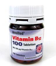 Vitamin B12 100 μg - 180 Kapseln von revoMed  Basisversorgung