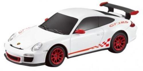 "RC REMOTE CONTROL PGT14W 13/"" 1:14 Porsche GT3 White"