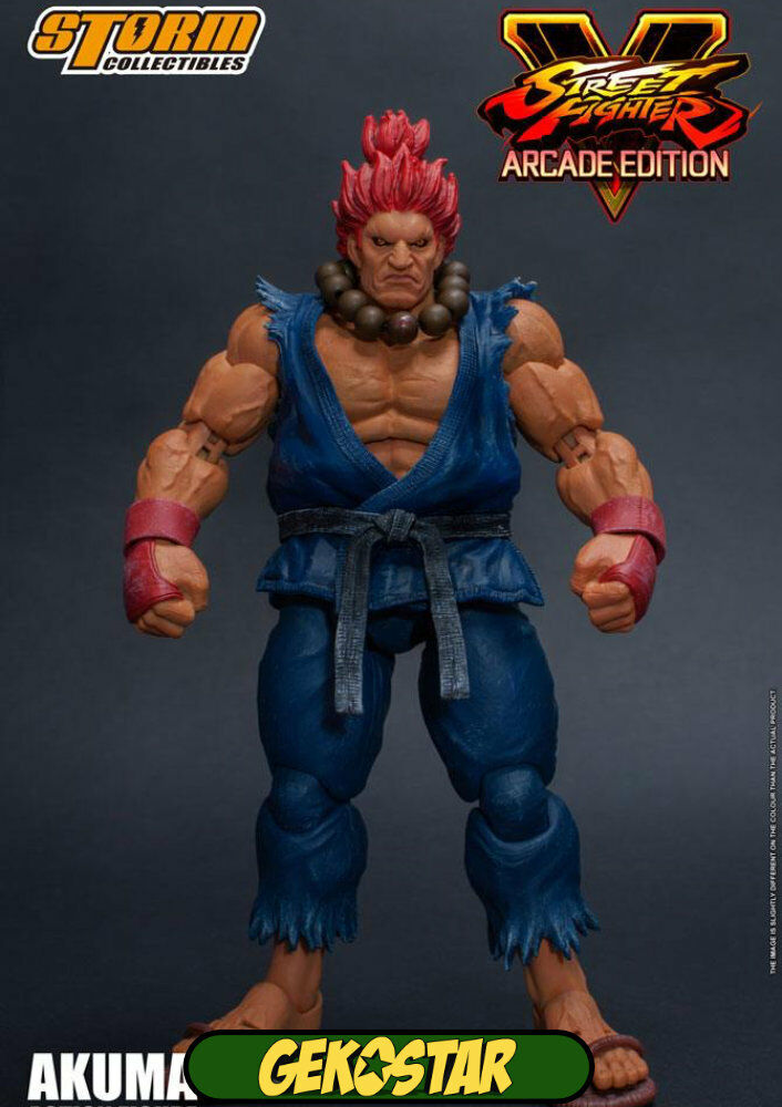 Akuma Nostalgie Costume-Street Fighter V Are Edition Action Figure