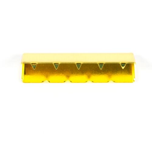 oro extremo cinturón bandas Precio = 1 unidades Metal-extremo para cinturon Band 40 mm