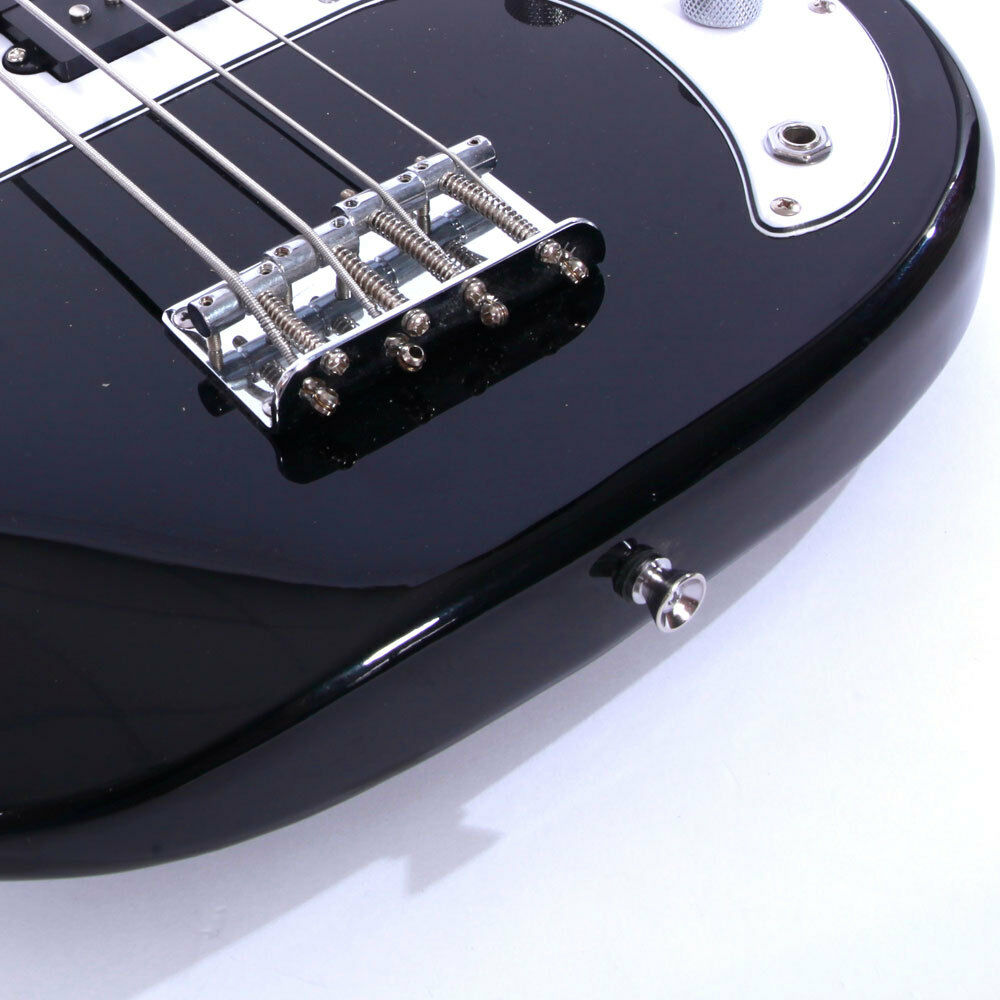 Brand Black 4 String Burning Fire Electric Bass Guitar Ebay Rogue Output Jack Wiring Norton Secured Powered By Verisign