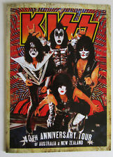 KISS 2015 New Zealand / Australia Tour Book Tour Program Gene Simmons, Stanley