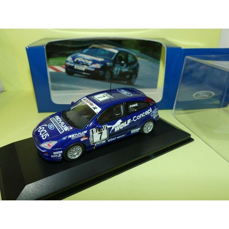 FORD FOCUS DTC WOLF RACING 1999 FUNKE MINICHAMPS 1 43