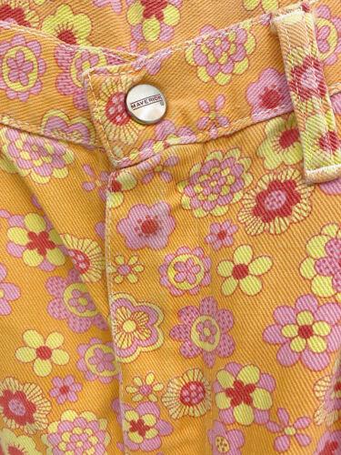 ⭕ 70s Vintage Maverick hippie flower pants : jeans