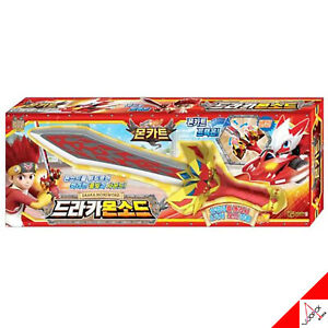 Monkart Draka monsword Weapon rot Sword transweapon Kinder Spielzeug-Licht, Sound/Korea