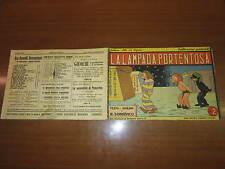 ALBI GRANDI AVVENTURE N°16 DEL 15/8/1943 LA LAMPADA PORTENTOSA SOMALVICO NERBINI